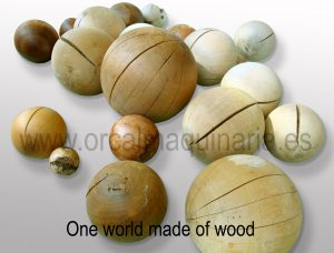 Bolas de madera Orcal